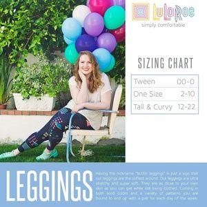LuLaRoe Pants - NWT Lularoe TC BoHo Leggings
